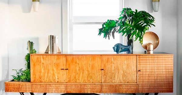 aparador de diseño de madera