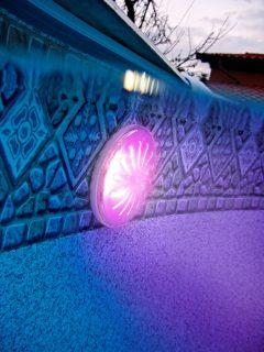 Iluminación LED Gre para piscinas