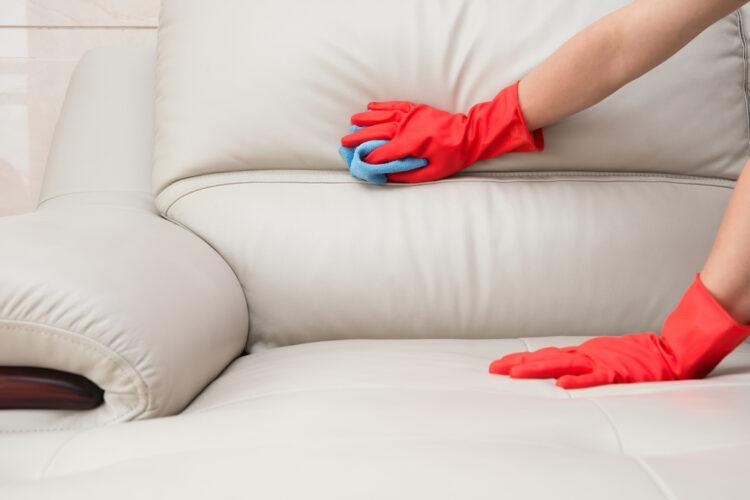 Cuidar un sofá de cuero