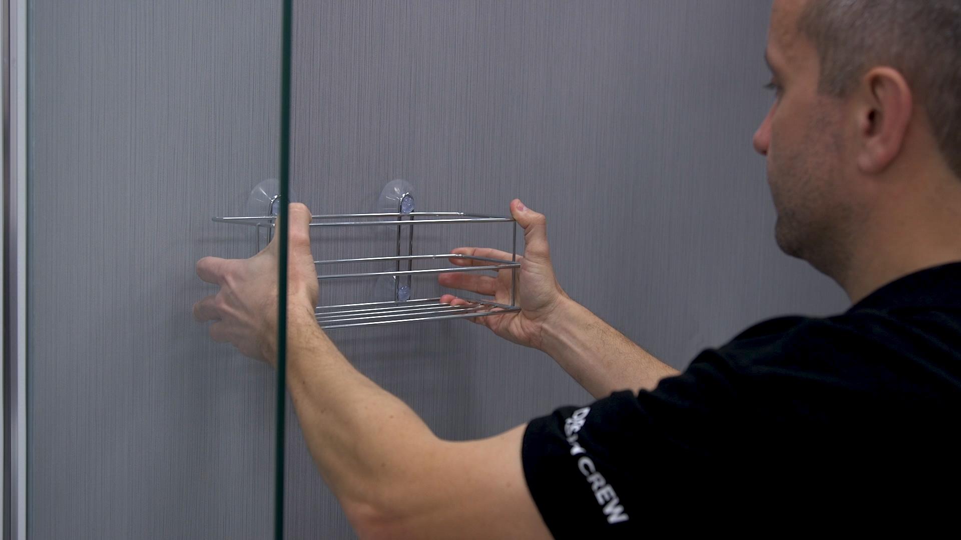 Cabina de ducha transparente