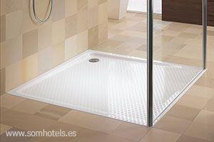 Plato de ducha 40x40