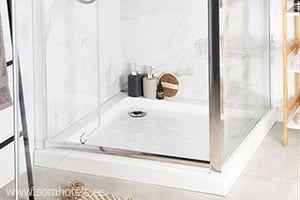 Plato de ducha 90x90