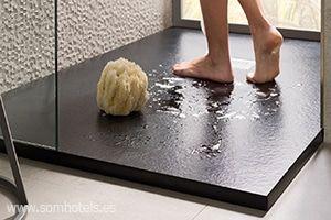 Plato de ducha antideslizante clase 3