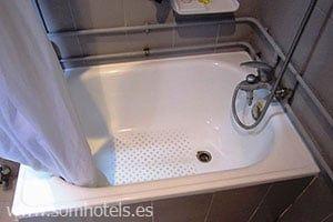 Plato de ducha bañera