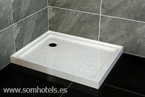 Plato de ducha fibra de vidrio
