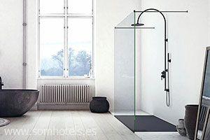 Plato de ducha flexible