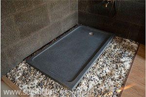 Plato de ducha granito