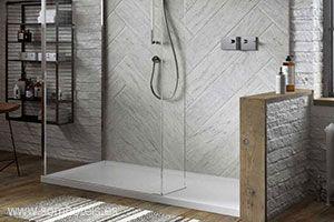 Plato de ducha levantado