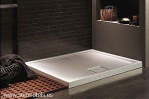 Plato de ducha loza