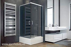 Plato de ducha pequeño