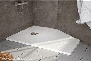 Plato de ducha quore