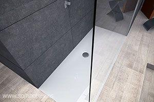 Plato de ducha sin bote sifónico