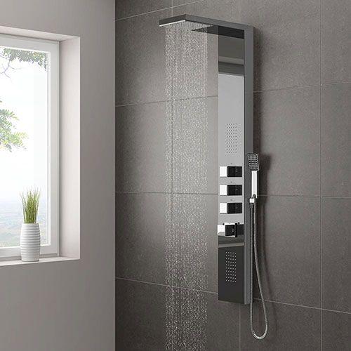 como limpiar columna de ducha