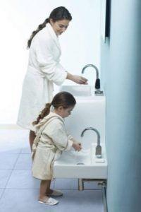 Bathroom Sink Height: Standard from Floor